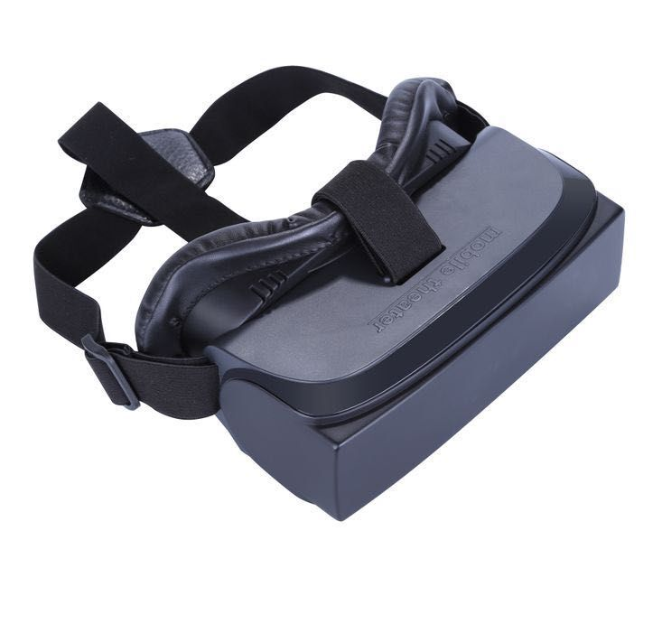 Fashion 3D Private Mobile Cinema 3D Viewing Glasses Virtual Reality Headset HMD-518 Full 1080P Build-in Batter Light Weight