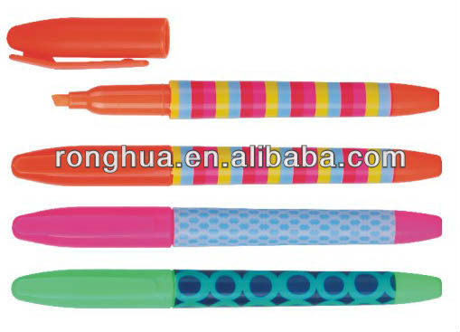wholesale plastic Mini highlighter marker WY-4237(China (Mainland))