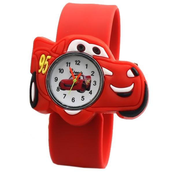 Гаджет  2014 New Fashion Cartoon Quartz Watch Cute Lovely Q Version Car Jelly Watch Cartoon Casual Dress Watch for Children