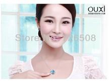 Best Quality Women Necklace Pendant Jewelry Aquarius Jewlery Made with Swarovski Elements Crystals from Swarovski OUXI