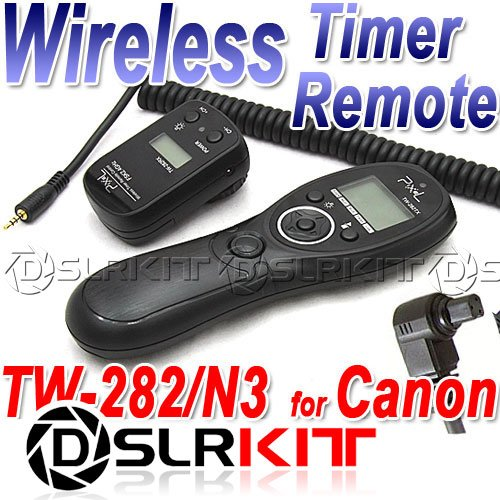 Фотография Wireless Timer Remote for CANON 50D 40D 5D II 7D 6D 1D IV 5D III