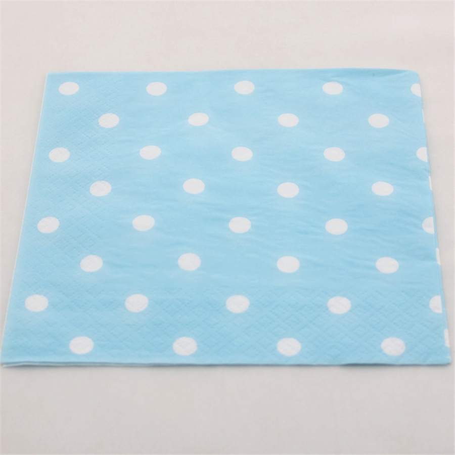 polka dot paper napkins Pink polka dot beverage napkins, great for mopping up those sticky fingers see the matching range of paper cups, plates, invitations, hats and more are also available.