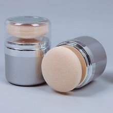 Loose Powder Foundation Face Powder With Puff Hot Mineralize Skin Finish Professional Makeup Powder Cosmetic Powder Fond #61692(China (Mainland))