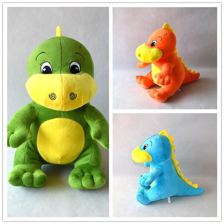 "12.5"" Dinosaur Stegosaur Tyrannosaurs Dino Valley Animal Planet Plush Doll Baby Toy Stuffed Animals & Plush Gift For Kids(China (Mainland))"