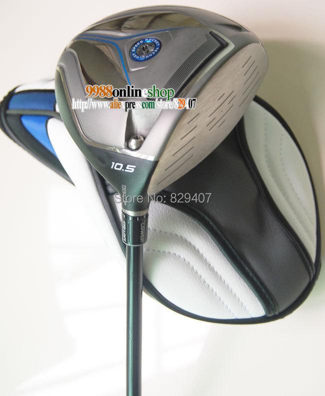 golf driver Men Tm jetspeed Golf club driver 10.5and9.5 golf Clubs graphite golf shaft R/S club drivers HeadCover Free Shipping(China (Mainland))