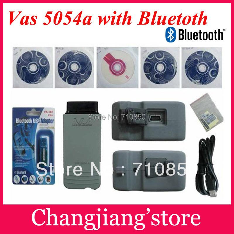 2016 DHL FREE ! NEW top multi-language vas 5054a scanner version VAS5054 vas 5054 Bluetooth vas5054a for VW AU-DI skoda seat(China (Mainland))