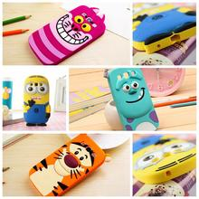 Soft Silicone Cartoon 3D Cute Minions Cases For Samsung Galaxy J1 J5 J100H J500H A3 A5 2016 A310F A510 J120 J510 Back Cover(China (Mainland))