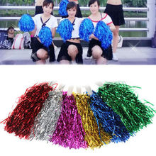 Modish Cheer Dance Sport Supplies Competition Cheerleading Pom Poms Flower Ball Lighting Up Party Cheering Fancy Pom Poms 1PC(China (Mainland))
