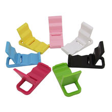 Hot Sale Colorful Universal Foldable Mini Stand Holder for Tablet PC Cell Phone(China (Mainland))