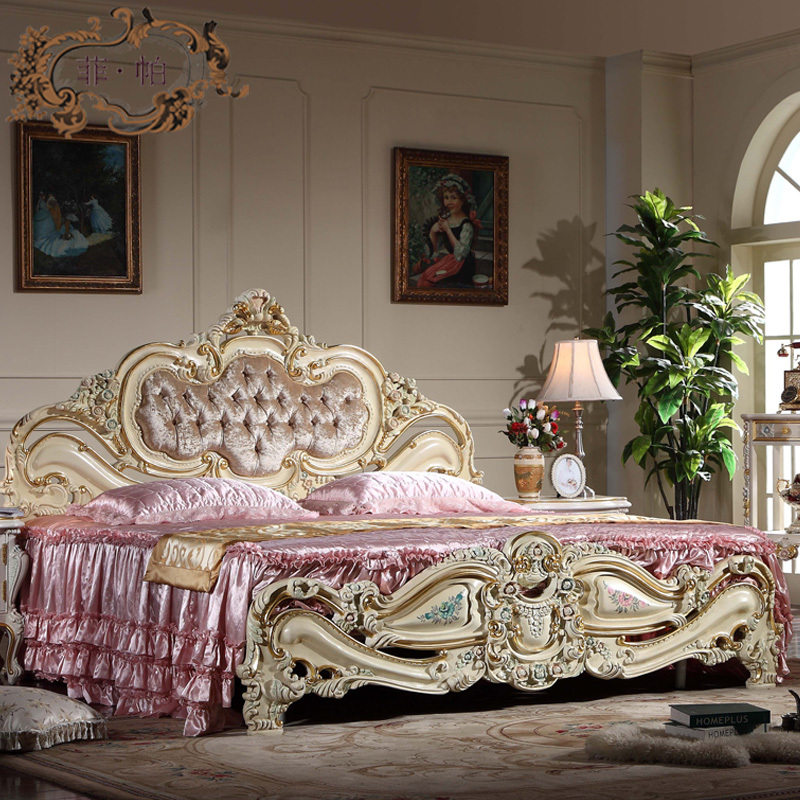 Antique Furniture Bedroom Baroque European Furniture