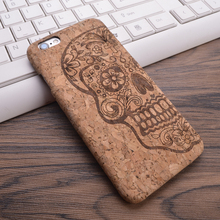 2016 New Wood Grain Design Soft TPU Fiber Crack Any Carvings Pattern Back Phone Cover for iPhone 6 6S 7 7plus(China (Mainland))