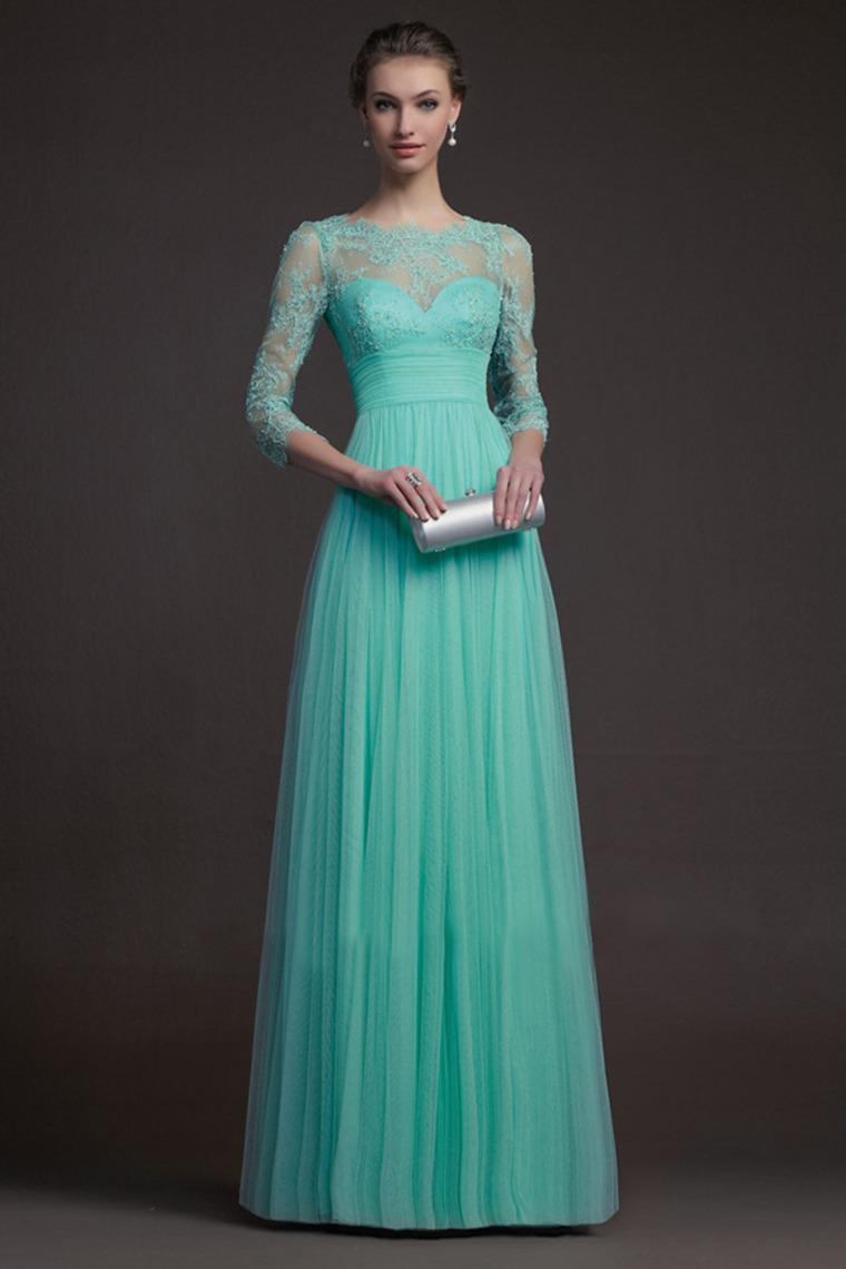 Popular Long Bridesmaid Dress with Long Sleeves-Buy Cheap Long ...