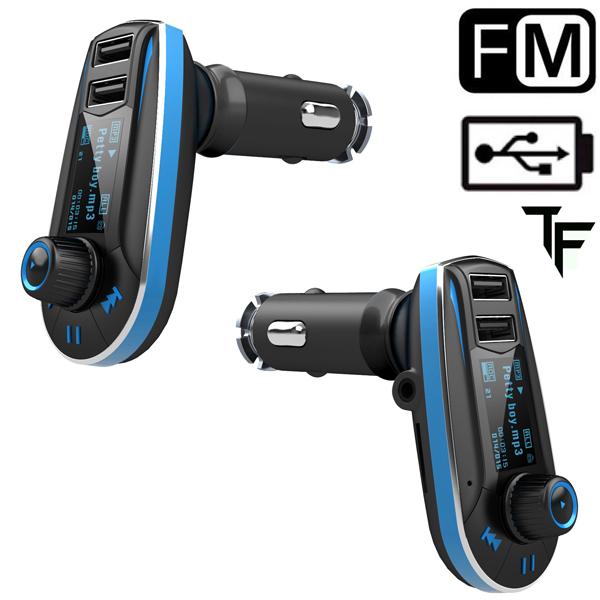 New Dual Port USB Car Wireless Radio Audio FM Transmitter MP3 Player(China (Mainland))