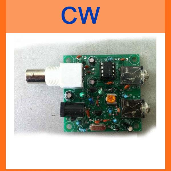 HAM RADIO 40M CW Shortwave Transmitter Receiver 7.023-7.026MHz QRP Pixie Kit DIY DC 9v - 12v(China (Mainland))