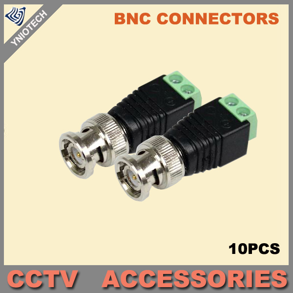 Гаджет  Coax CAT5 To Camera CCTV BNC Video Balun Connector 50pcs/lot None Безопасность и защита