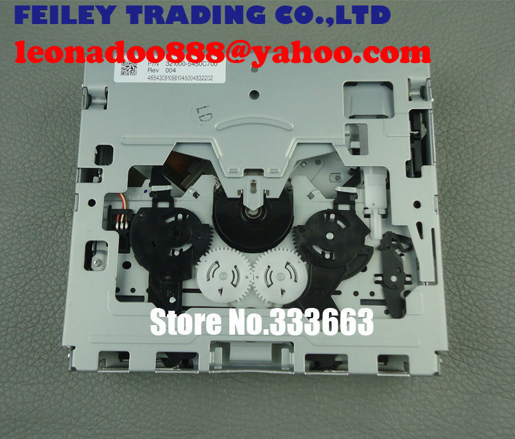Brand New Fujitsu ten single CD loader mechanism with 4 tapping hole For Toyota Camry 86120-06580 Car CD Radio Tuner MP3 WMA(China (Mainland))
