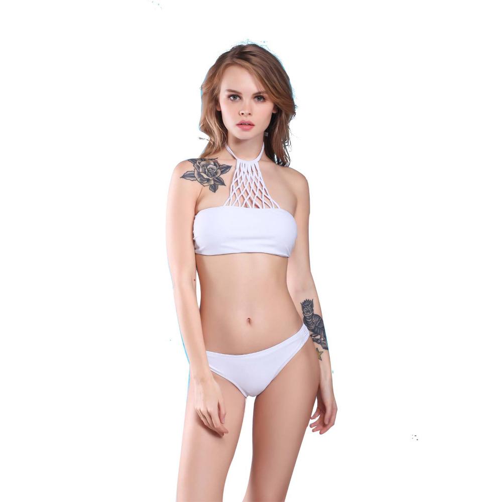 Swimwear Women 2016 Vitage Bikini Brand New VS Ladies Sexy Swimwear Pin Up Bandage Bikini(China (Mainland))