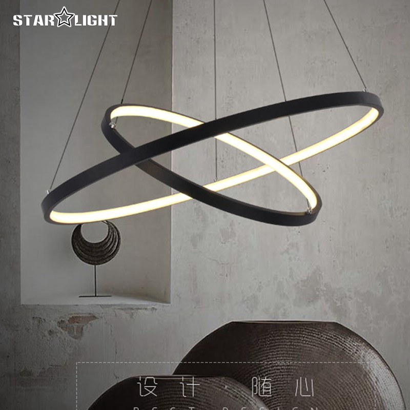 New Modern ring LED Ceiling Lights Sitting room Dining-room Stair Bedroom study corridor Aluminum Acrylic Ceiling(China (Mainland))