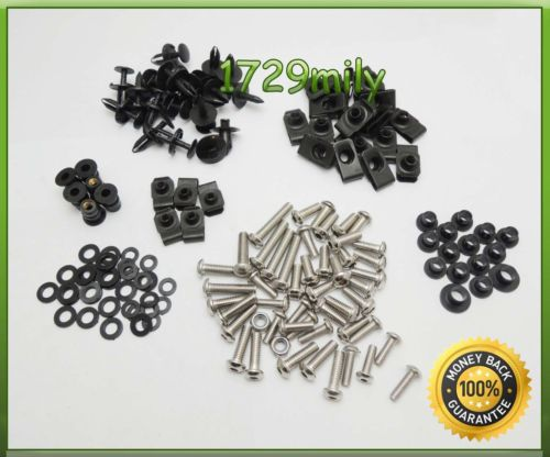Complete Fairing Bolts Kit Body Screws For Yamaha YZF R1 2004-2006 04 05 06 fairing bolt screw(China (Mainland))