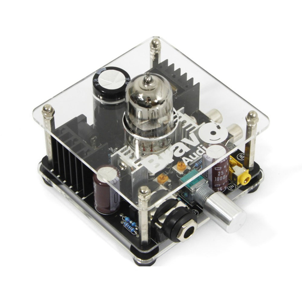 Bravo Audio V1 Valve Class A Russian EH 6922 Tube Headphone Amplifier preamp Audio