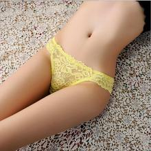 Buy 2017 lace hollow women panties quality fashion sexy pure color comfortable jacquard emboridery radiant ladies G strings c17