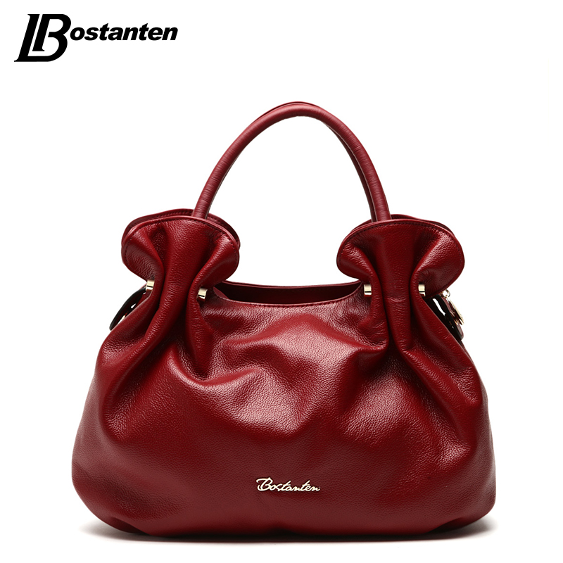 BOSTANTEN New Famous Brand Bag Women Genuine leather Small Ladies Handbags 2016 Women Fashion Bags Brand Design Sac A Main Femme(China (Mainland))