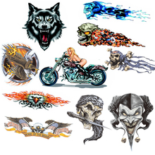 Beauty Wolf Eagle Monster Sticker For Motorcycle BIKE CAR UNIT SCOOTER FUNNY DECALS STICKERS(China (Mainland))