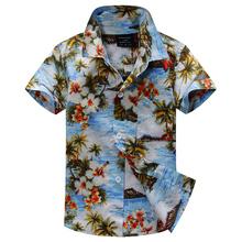2015 new arrival  cotton 100% floral shirt hawaiian shirt aloha shirt for boy T1518
