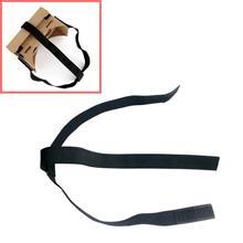 Top Quality Black DIY Head Mount Strap For Google Cardboard vr Virtual Reality 3D Glasses JA21(China (Mainland))