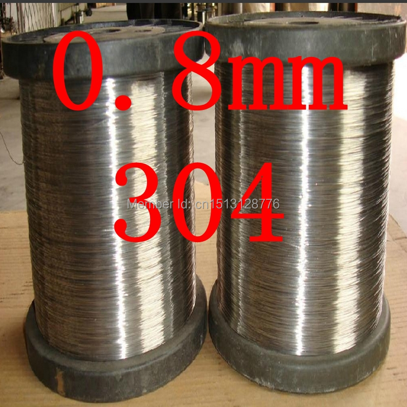0.8mm,0.8mm*100m hard condition,food grade,304,321,316 thread,cold drawn bright surface industry DIY stainless steel wire,<br><br>Aliexpress