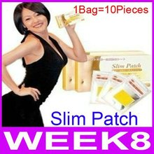 Hot Sale!!! Slimming Patches Massager Body Weight Loss Slim Patches Health Care (1bag=10piece) By EMS