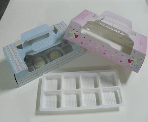 Wholesale 50pcs/lot 280*145*75mm 8 Cupcake Mooncake Box ...