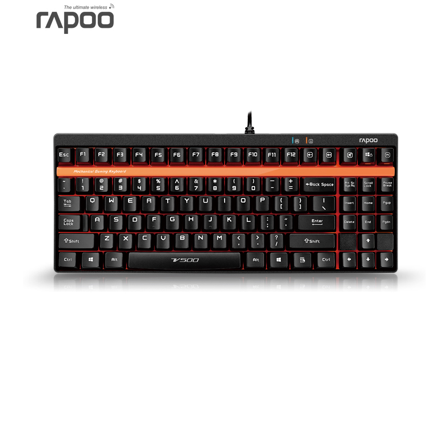 Brand New 87Keys Programmable Anti-ghosting Mechanical Gaming Keyboard Rapoo MX Switch 2PCB for Computer Tablet PC Gamer Dota 2(China (Mainland))