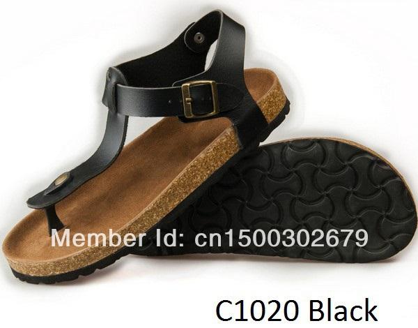 2014 Summer Sandals outdoor slipper cork sole suitable women Flip-flop Ankle Strap Footbed - Summer's Leisure Shop store