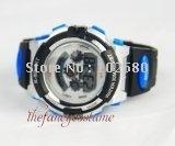black blue New Digital Electronic Fashion  LCD  Sports Wrist Bracelet Watch Band new free shipping