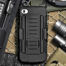 Armor Impact Holster Shockproof Hybrid Hard Case For iPhone 6 Plus Case Back Phone Cover Belt Clip for iPhone6 5.5