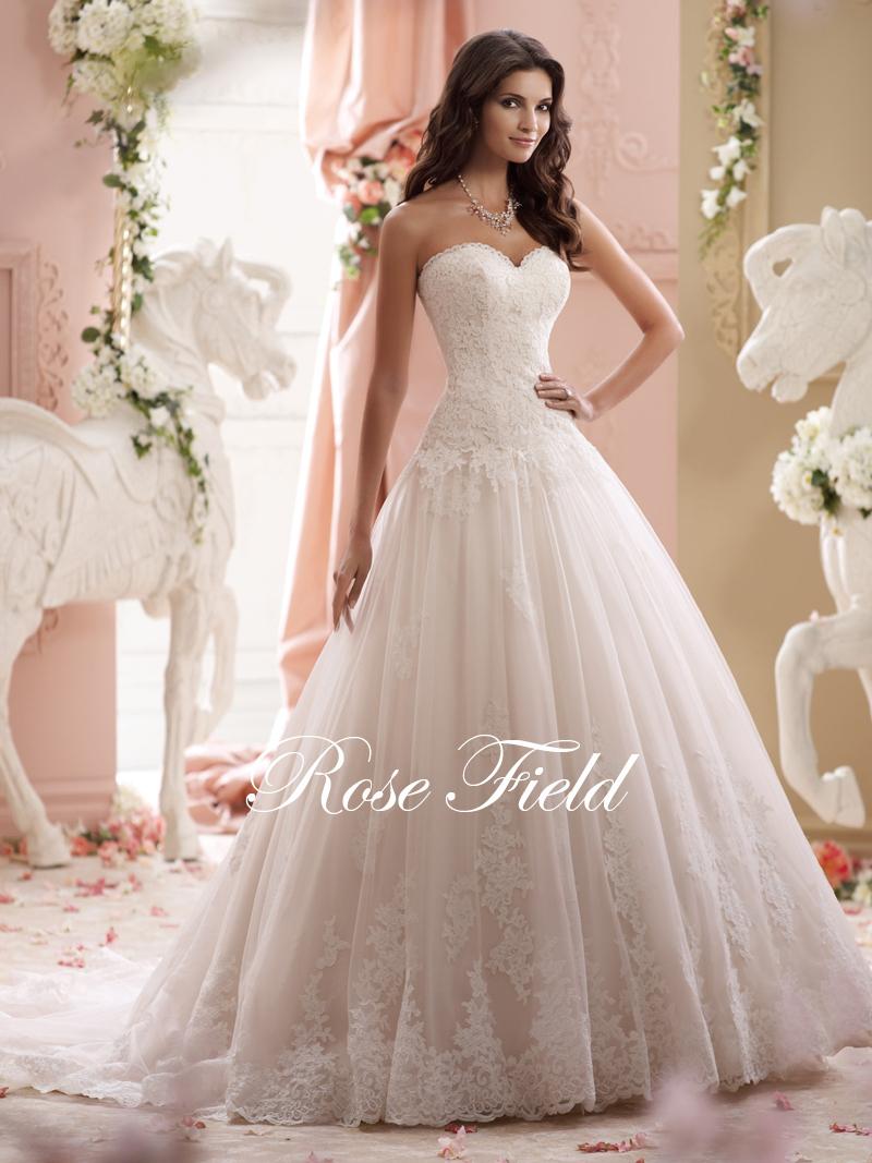 SL-020992 Elegant A-line Sweetheart Appliqued Lace Bridal Wedding Dress 2015(China (Mainland))