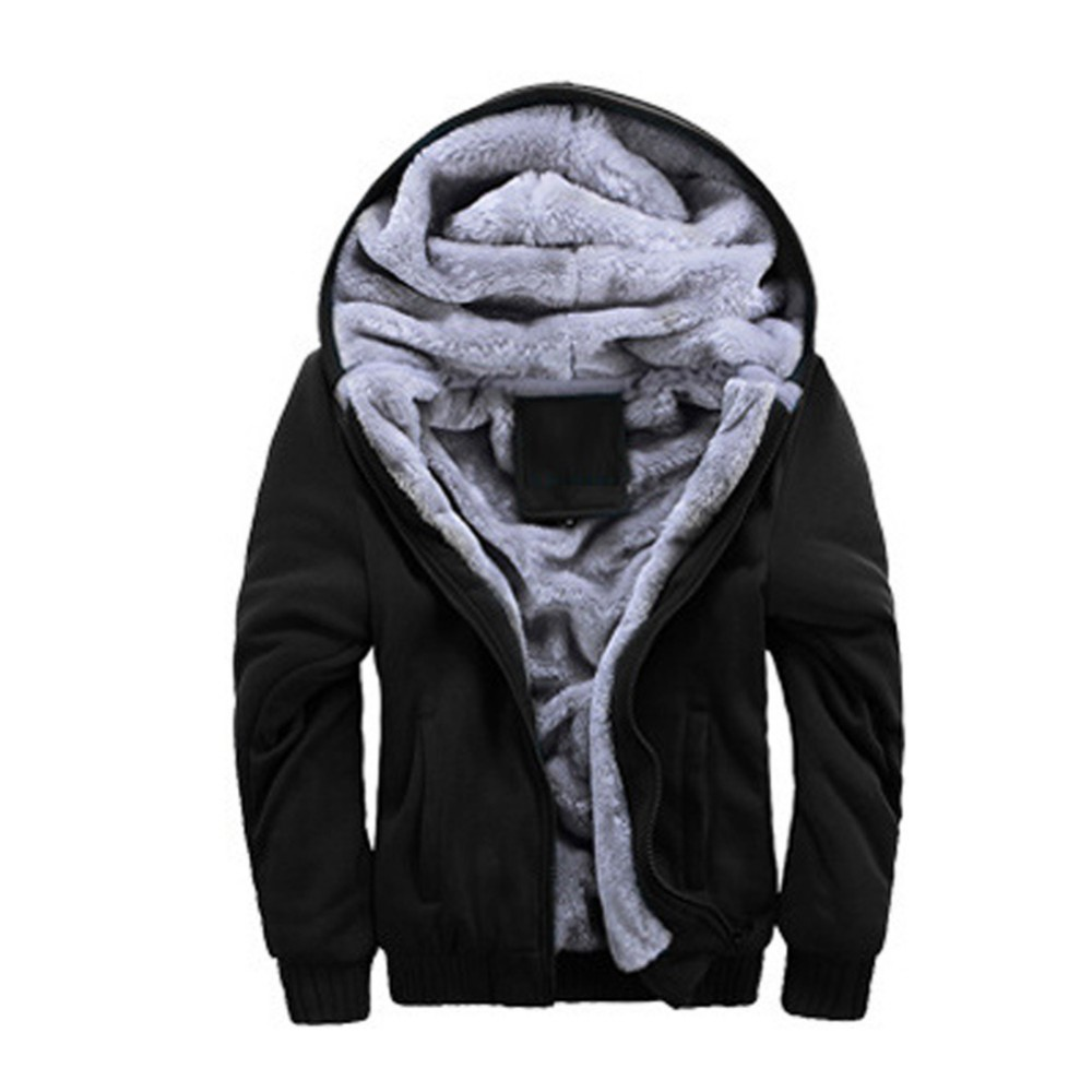 Wholesale Fall Mens Winter Thicken Warmth Sweatshirts Jackets ...