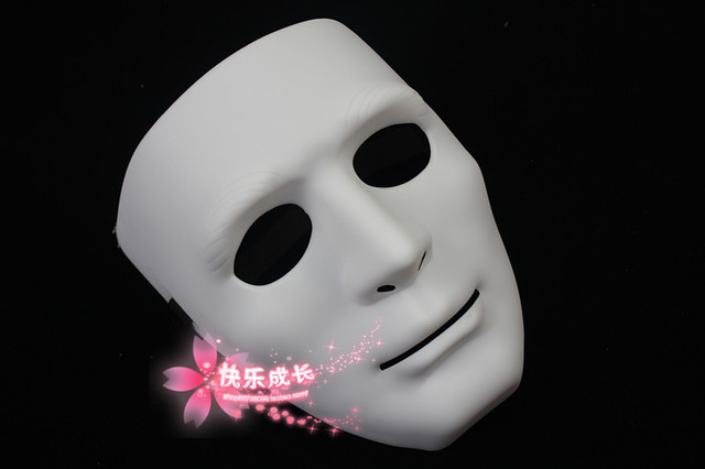 free shipping White mask jabbawockeez mask hip-hop mask gloves