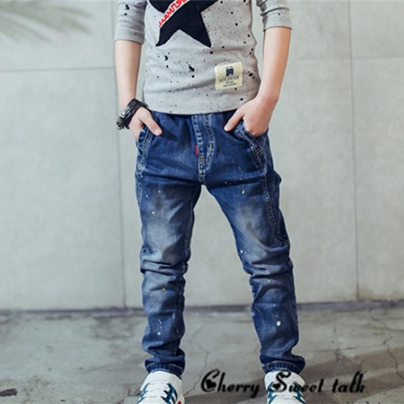 2017-children-s-clothing-boys-jeans-spring-and-autumn-splash-ink-children-pants (3)