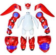 Новый Фигурку Большой Герой 6 Броня-Up Baymax/Действие Игрушки Фигурки/Оригинальной Коробке Детские Игрушки подарок/Brinquedos