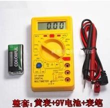Dt830b AC / DC амперметр вольтметр ом электрический тестер портативный профессиональный цифровой мультиметр