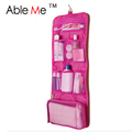 New 2016 Makeup Organizer Multifunctional Trousse De Maquillage Pouch Cosmetic Women Hanging Toiletry Bag Travel Cosmetic