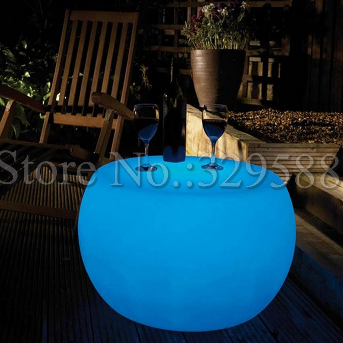modern battery led table and chair set led balcony furniture<br><br>Aliexpress