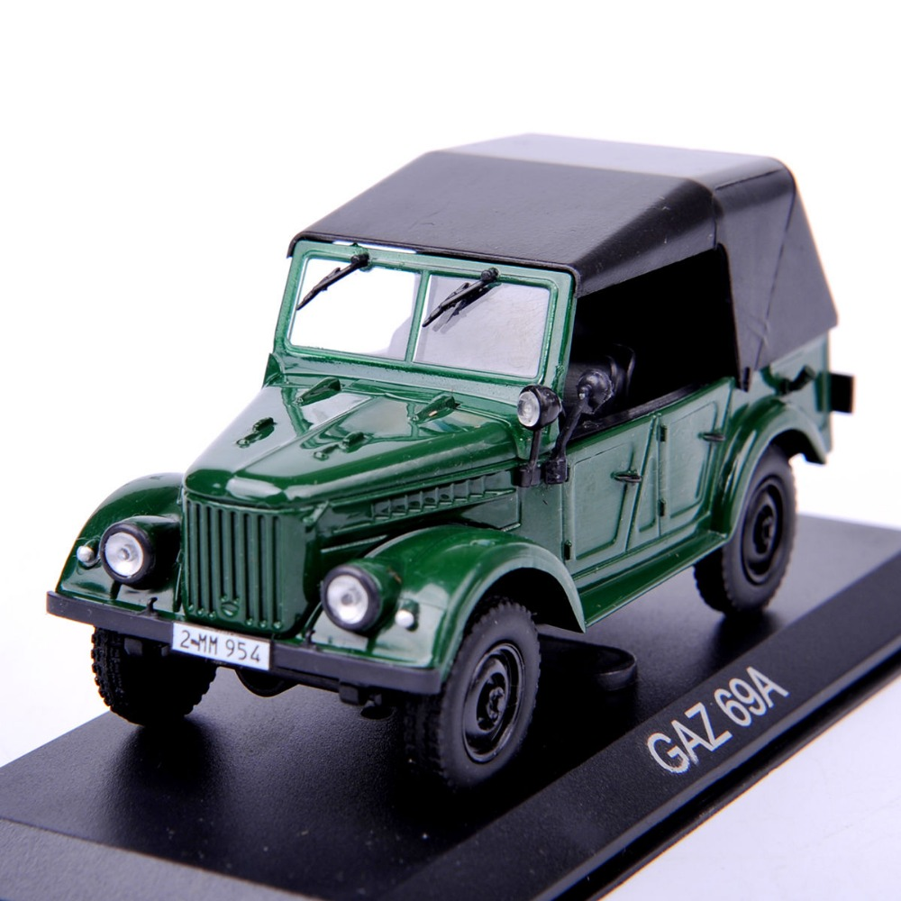 1/43 Scale Altaya Jeep Alloy Diecast Model Car GAZ 69A Model Toys brinquedos Collection For Children Birthday/New Year Gifts C(China (Mainland))