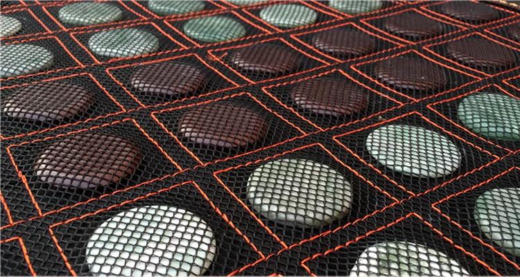 220V Hot Stone Massage Mat Heated Massage Bed Mattress Popular in Korea Free Shippping 1.0X1.9M Free Shipping