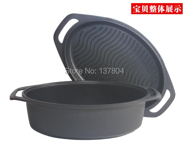 non stick die cast aluminium large size soup pot big size kichen cooking pot in soup stock
