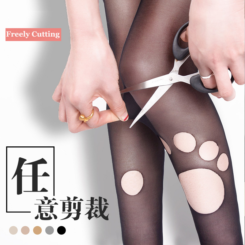 2016 Fashion Women Sexy Tights New Hot High Elastic Anti-Hook Long Stockings Female Stylish Ultra Thin Slim Pantyhose Free Size(China (Mainland))
