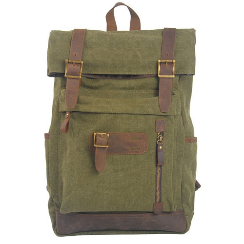 2015 New Unisex Retro Fashion Canvas Backpack Double Hasps Zipper Students Bag<br><br>Aliexpress