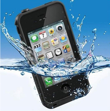 Tethys Case SUBMERGE Series Life Water / Dirt / Shock Proof Protective Slim Rugged water proof case For iPhone 4 4S(China (Mainland))
